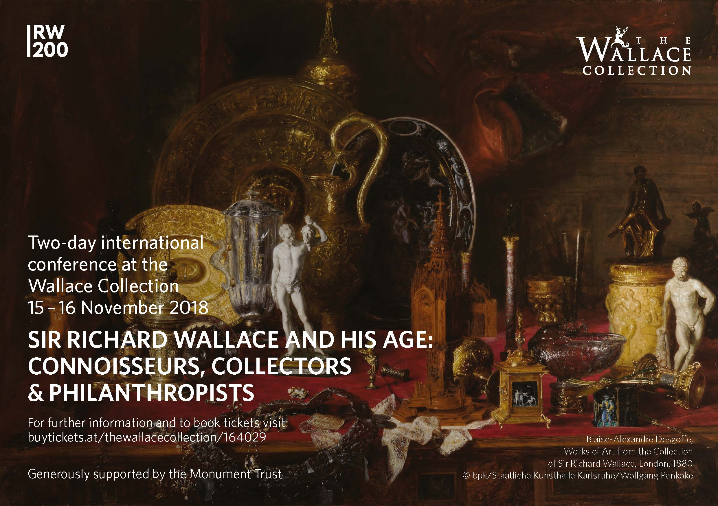 Two-day International Conference at the Wallace Collection