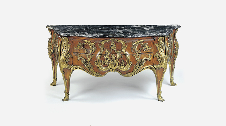Louis XV's Commode, Antoine-Robert Gaudreaus  ©Wallace Collection
