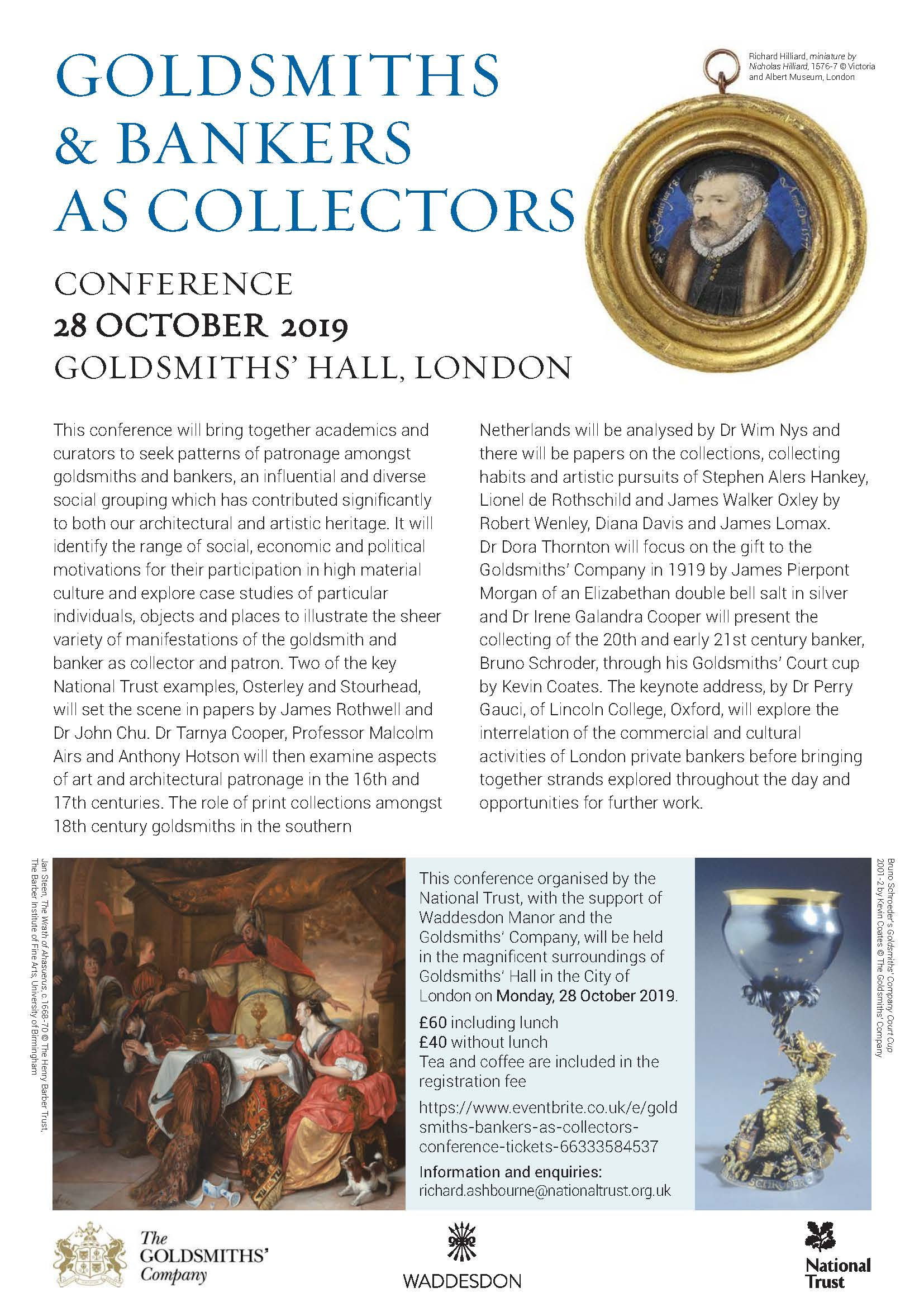 CONFERENCE - Goldsmiths & Bankers as Collectors